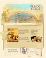 iWeb Template: Fresco Theme