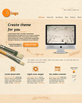 iWeb Template: LightCardboard