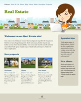 iWeb Template: Real Estate