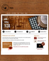 iWeb Template: Tea Time Theme